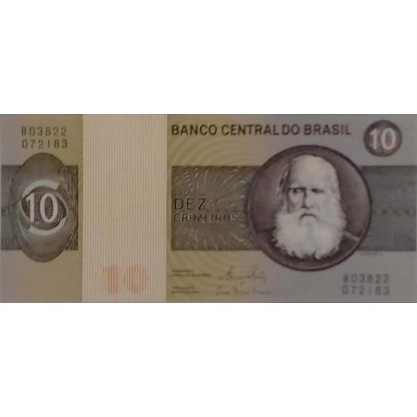 10 CRUZEIROS ANO 1980