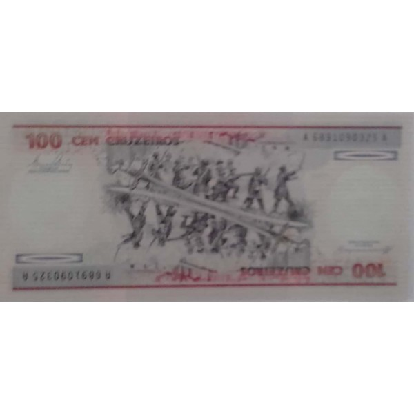 100 CRUZEIROS  ANO 1981