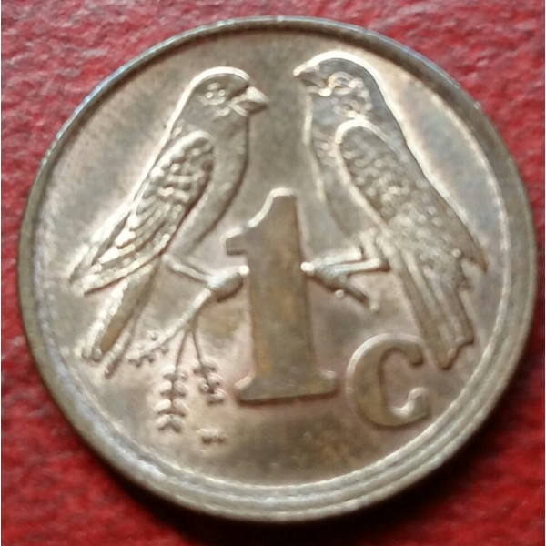 AFRICA DO SUL 001 CENT ANO 1996