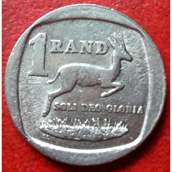 AFRICA DO SUL 1 RAND ANO 1992