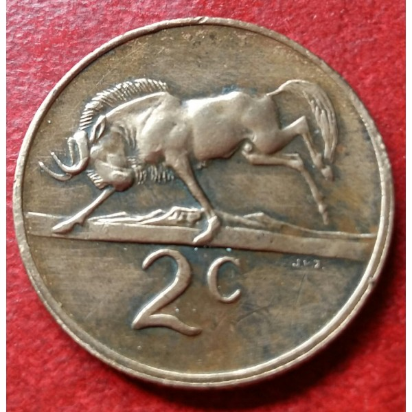 AFRICA DO SUL 00,2 CENTS ANO 1979