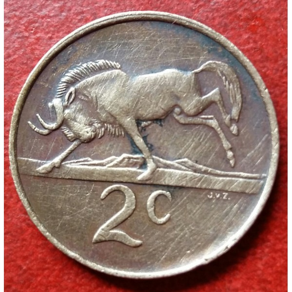 AFRICA DO SUL 00,2 CENTS ANO 1983