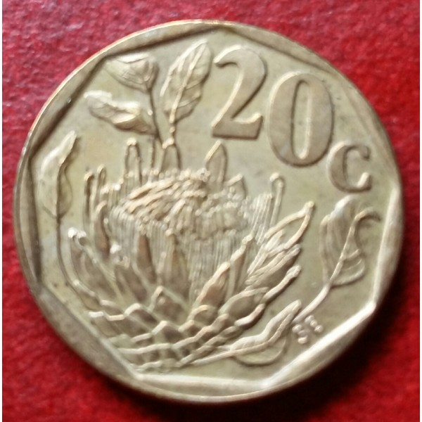 AFRICA DO SUL 0,20 CENTS ANO 1994
