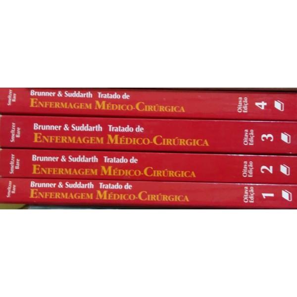 BRUNNER PRATICA DE ENFERMAGEM  COLEÇÃO COMPLETA 4 VOLUMES