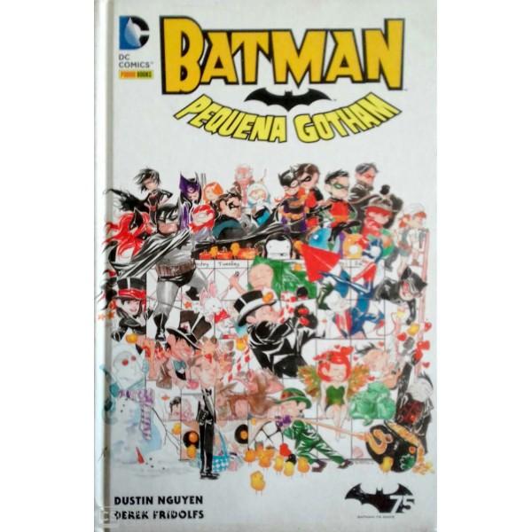 BATMAN PEQUENA GOTHAM  DC.COMICS CAPA DURA