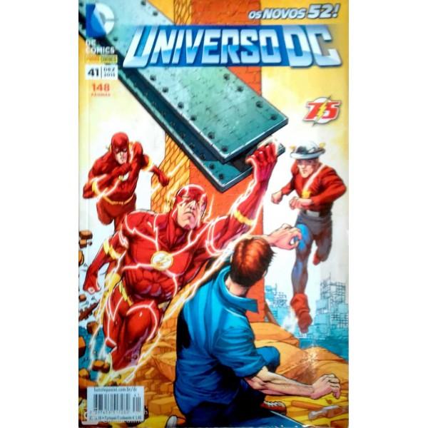 DC. COMICS OS NOVOS 52 UNIVERSO DC NÚMERO 41
