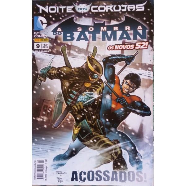 BATMAN  NOITE DAS CORUJAS ACOSSADOS NÚMERO 9