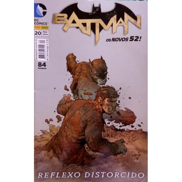 BATMAN REFLEXO DISTORCIDO NUMER 20