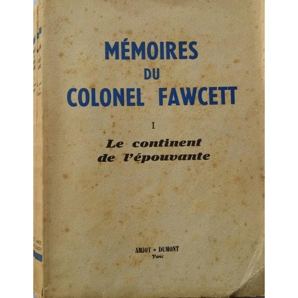 MEMÓRIAS DO CORONEL FAWCETT SUAS ROTAS MISTERIOSA...