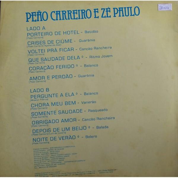 PEÃO CARREIRO E ZÉ PAULO OS DIPLOMATAS