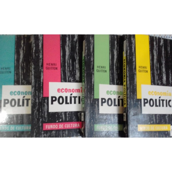 ECONOMIA  POLITICA 4 vol.