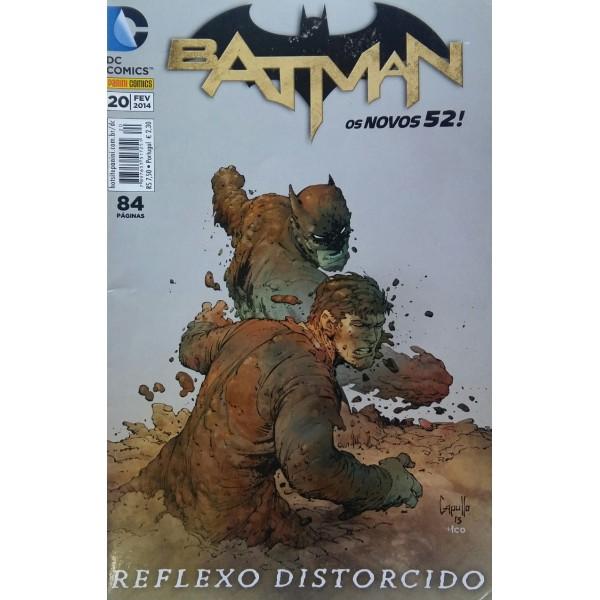 BATMAN  OS NOVOS 52 REFLEXO DISTORCIDO 20