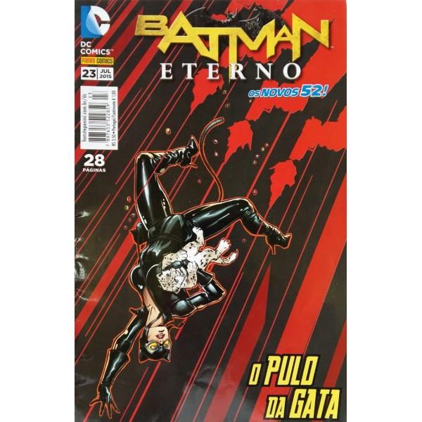 BATMAN ETERNO O PULO DA GATA NÚMERO 23
