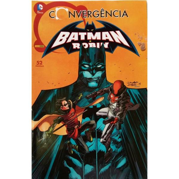 D.C. COMICS CONVERGÊNCIA BATMAN E ROBIN