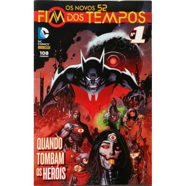 D.C. COMICS FIM DOS TEMPOS QUANDO TOMBAM OS HERÓI...