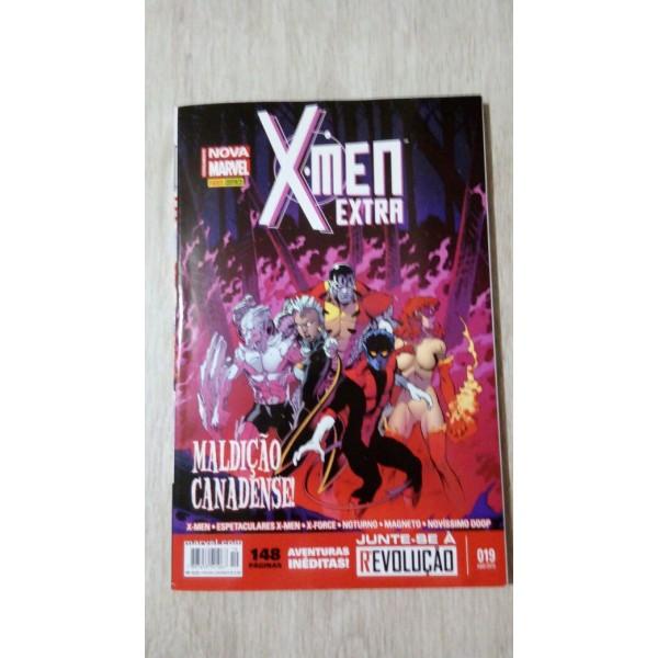 X- MEN EXTRA  MALDIÇÃO   CANADENSE 019