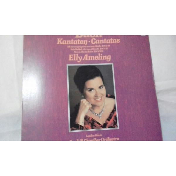 Bach Katntaten. .Cantatas Elly Almeling