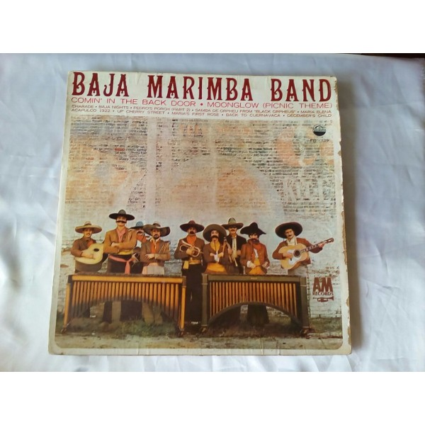 Baja Marimba Band Comin´ In The Back Door. Moongl...