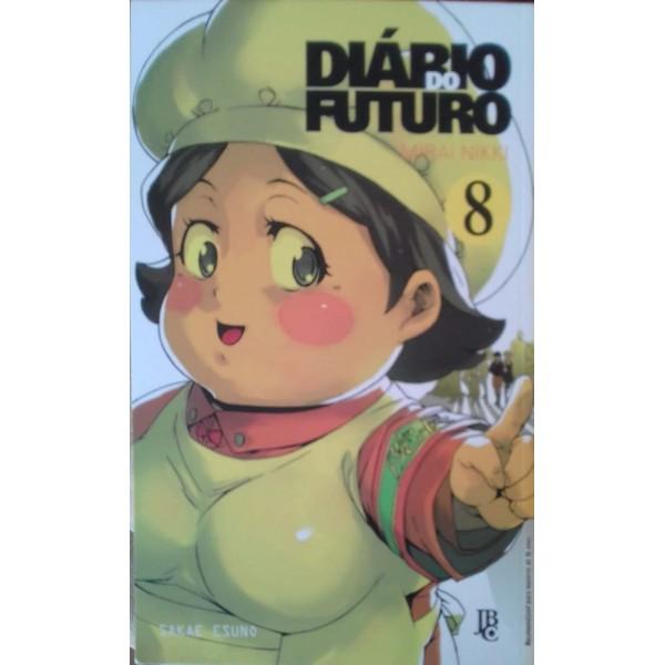 DIÁRIO DO FUTURO 8 MANGÁ