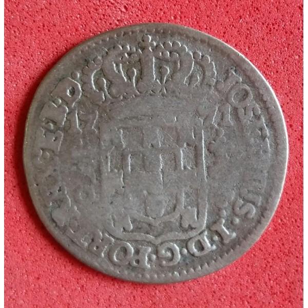 BRASIL COLÔNIA 160 RÉIS DE PRATA ANO 1771