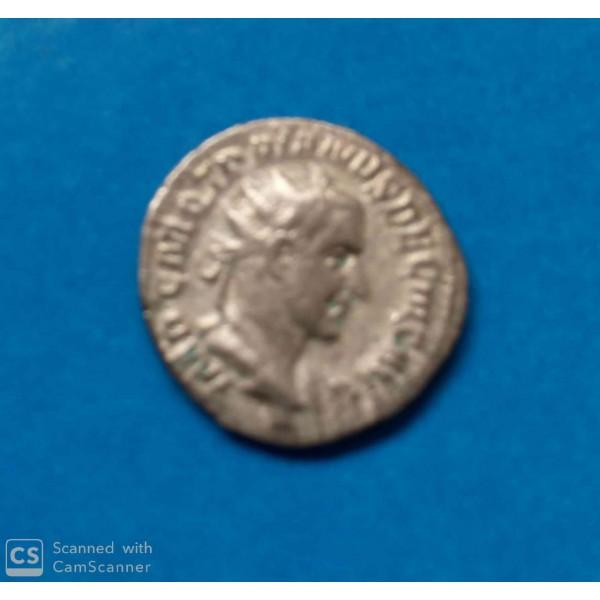MOEDA DE PRATA DO  IMPÉRIO ROMANO 273 D.C.