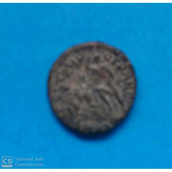MOEDA DO IMPÉRIO ROMANO  DE COBRE 271 D.C. IMPERA...